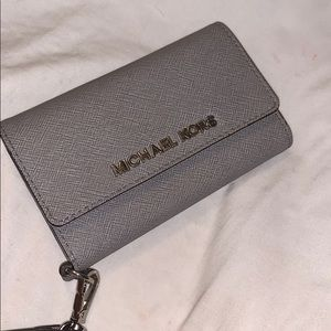 michael kors iphone 5 wallet phone case
